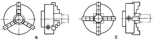 Трехкулачковый патрон токарный